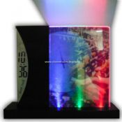 LCD Transparent Clock with Photo Frame images