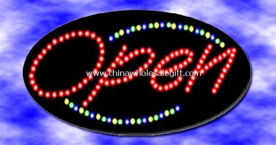 12V LED open sign