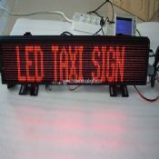 LED Taxi Sign With GPS and GSM images