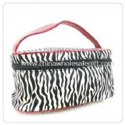 Fashion cosmetic bag with mirror images