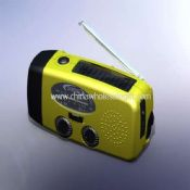 Solar and Hand-Crank Radio Flashlight images