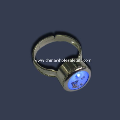 Red and blue LEDs ring