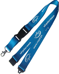 Heat Transfer Printing Neck Lanyard