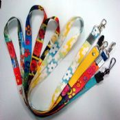 Heat Transfer Polyester Lanyard images