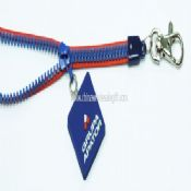 PVC Zipper Lanyards images