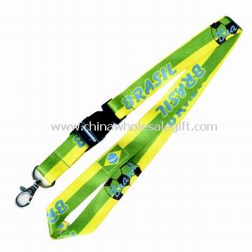 Polyester Lanyard with Heat Transfer