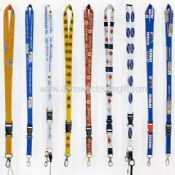 Heat transfer printing Nylon Lanyard images