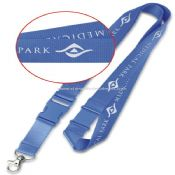 Nylon Lanyard with Printed Logo images