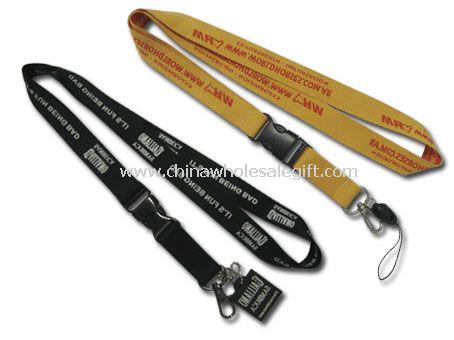Nylon Lanyard with plastic Zipper
