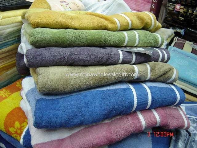 100% Cotton Velour Jacquard Towel
