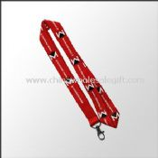 Badge Holder Lanyard with Printed Logo images