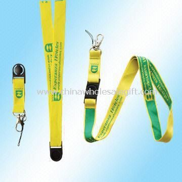 Jacquard Weave Lanyard with Plastic Clip