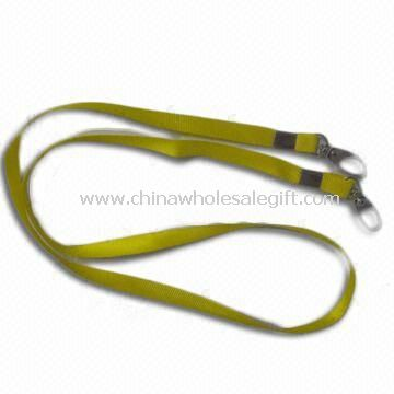 Lanyard with Metal or Plastic Clip