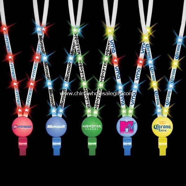 Colorful LED Flashing Lanyard