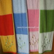 100% Cotton Embroidery Terry Towels images