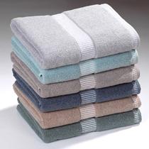Plain Terry Towel With Dobby Border
