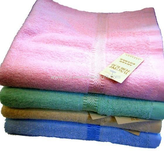 Solid Color 100% Cotton Terry Towel