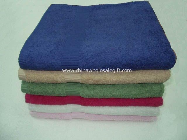 Solid Loop Terry Bath Towel