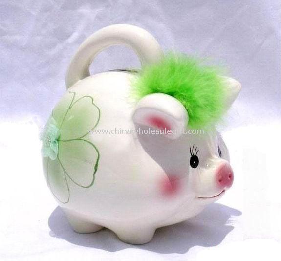 Ceramic Piggy Money Box