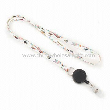Customized Lanyard with Retractable Reel