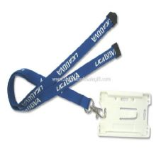 Polyester ID Card Holder Lanyard images
