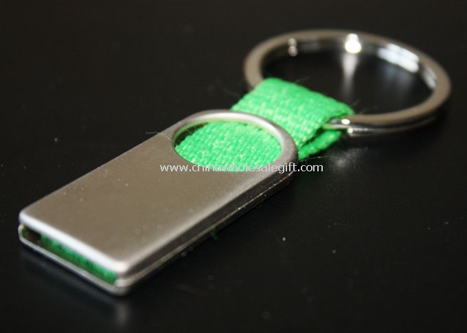 Keychain Made Of Lanyard And Zinc Alloy