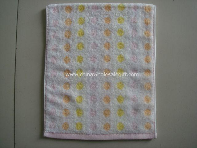 Semi-Twistless Jacquard Hand Towel
