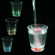 Water-Activated Flashing Shot Cup