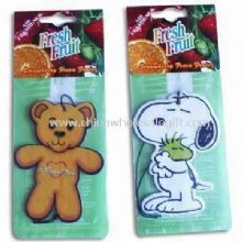 Paper Air Freshener in Various Scents/Shapes images