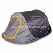 Camping Tent with 190T Polyester and Water-resistant PU images