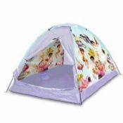 Dome Play Tent with Waterproof Floor Made Polyester Suitable for Kids images