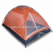 Mono Dome Tent with Silver Coating images