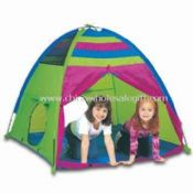 Thunder Dome Play Tent with Two Crawl/Tunnel Ports images