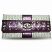 Womens PU/Genuine Leather Wallet images