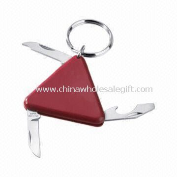 Triangle Shaped Multi-knife with Keyring