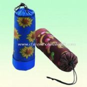 100% Waterproof PVC Fleece Picnic Rug with Mesh Outside Pouch images