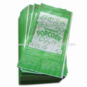 Microwave Popcorn Bag with Four-color Rotogravure Printing images