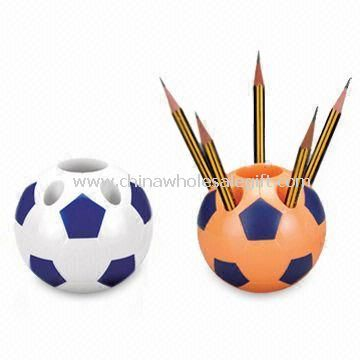 Football-shaped Pen Holder