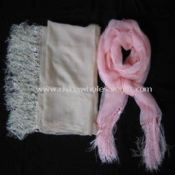 silk scarve with tassels images