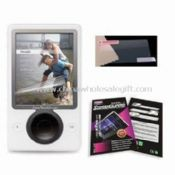 Fingerprint-free Zune Screen Protectors with Washable and Reusable Features images