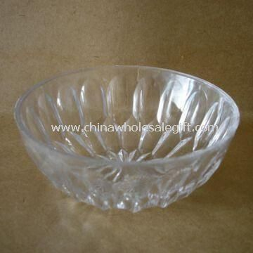 Bol à salade en plastique Crystal Clear