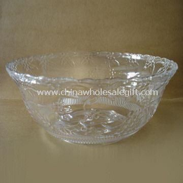 Crystal Clear Punch Bowl