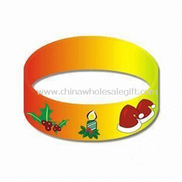 Silicone Wristband with Luminous Color