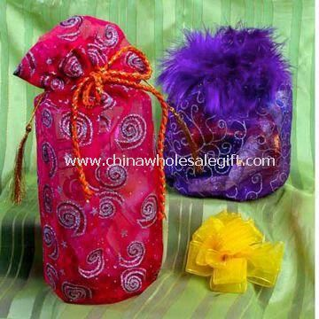 Beautiful velvet/ organza pouches used for cell phone/gift/comestic/jewelry packing