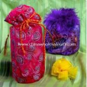 Beautiful velvet/ organza pouches used for cell phone/gift/comestic/jewelry packing images