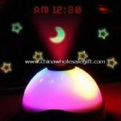 Colorful Night Light Projection Clock images