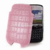 Leather Sleeve Pouch for BlackBerry 9000 images
