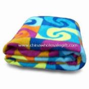 Fleece Blanket Made of Polyester Suitable for Travel images