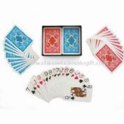 Playing/Poker/Game Cards Made of PVC and Paper images