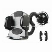 Car Mobile Phone Holder Made of Plastic with Suction-cup Base images
